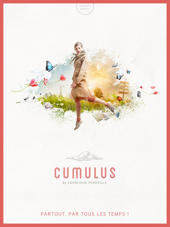 Cumulus poster par le graphiste Arnaud Beelen