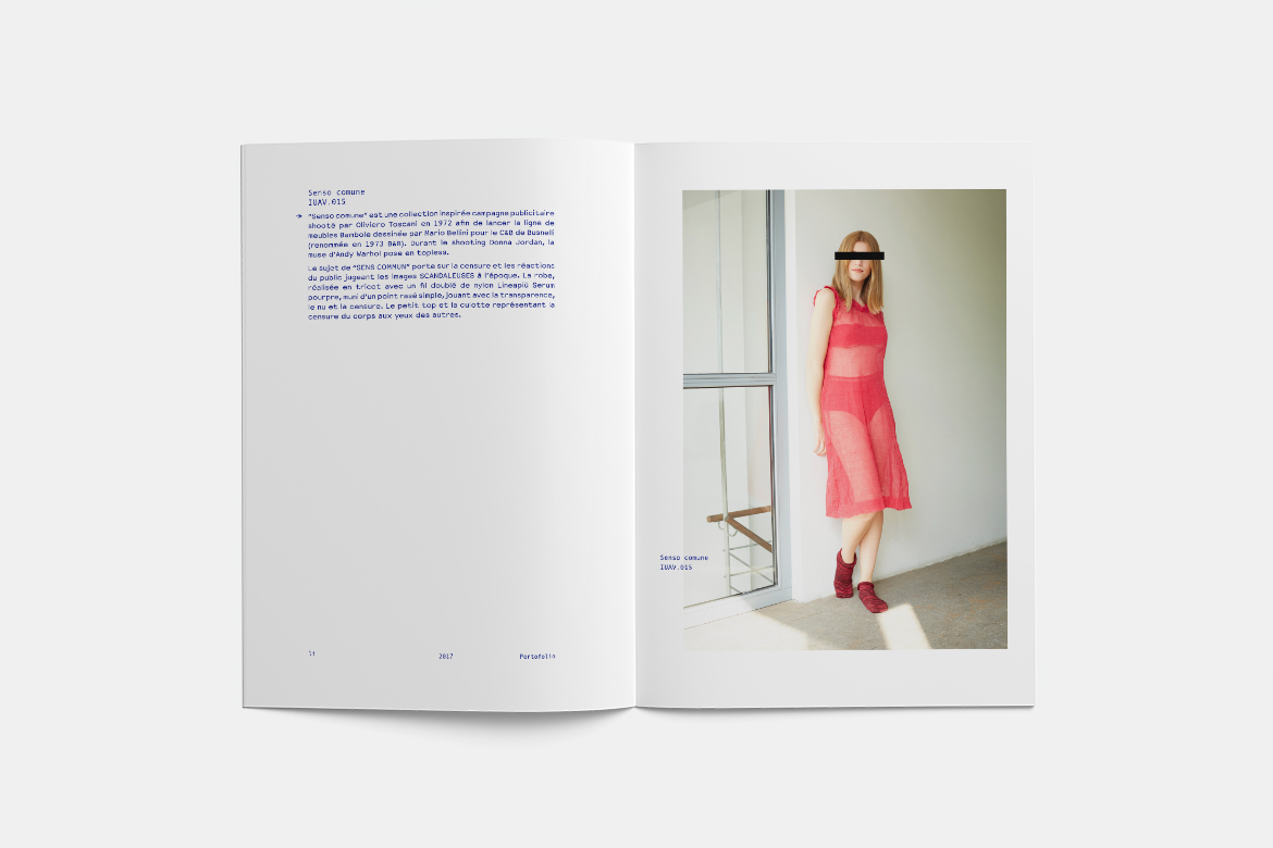 LI lookbook par le graphiste Arnaud Beelen