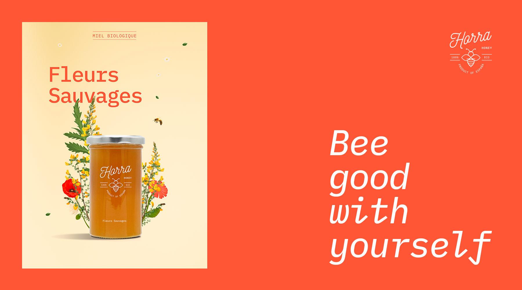 fleurs sauvages Horra Honey