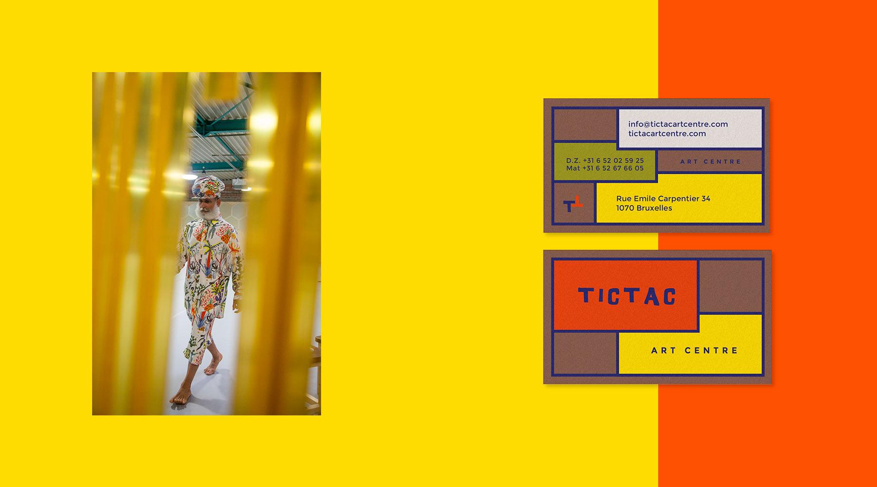carte de visite de Tictac Art Centre