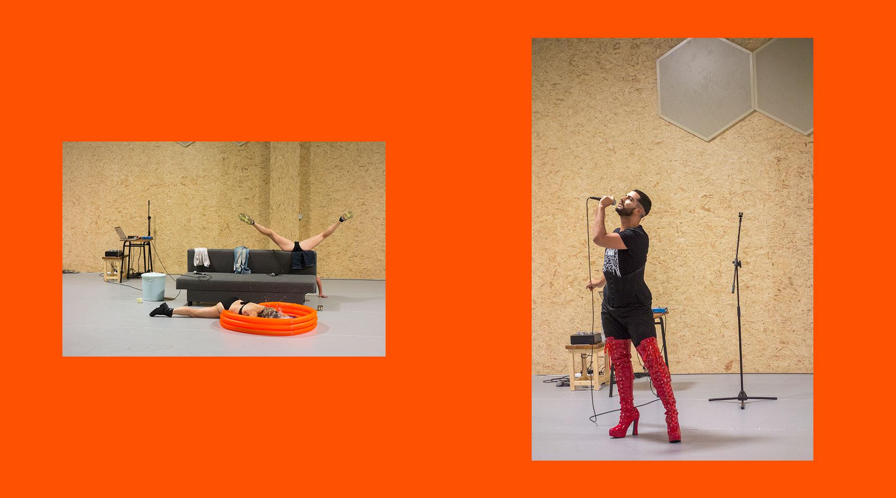 performeurs Tictac Art Centre