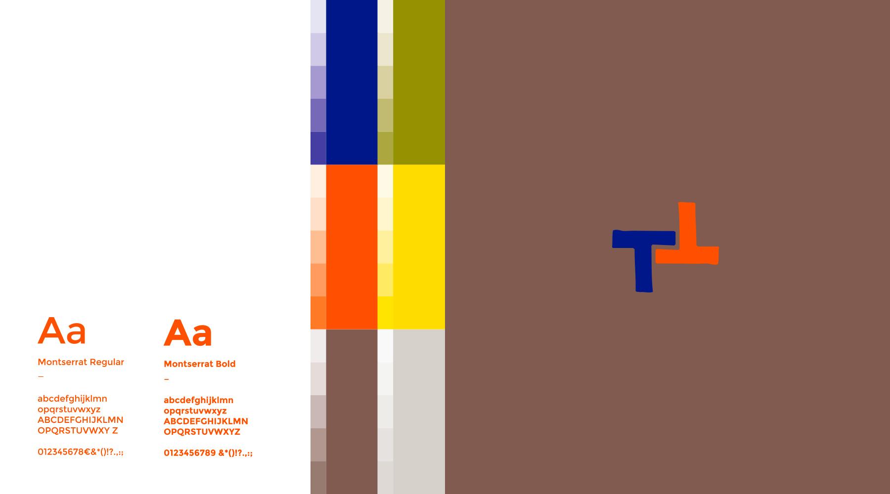 Tictac art centre teintes et tyographie