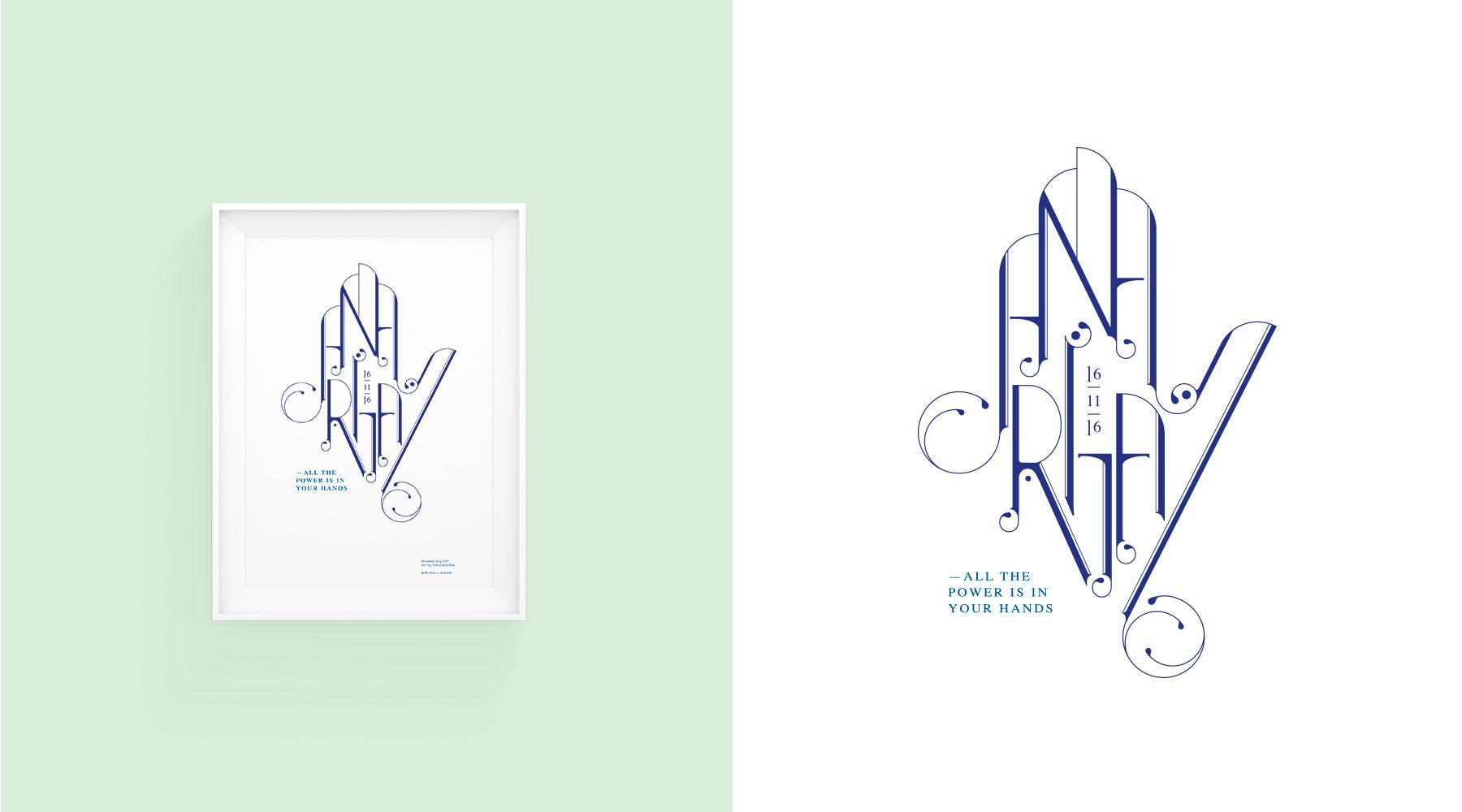 Typographie ANA RITA