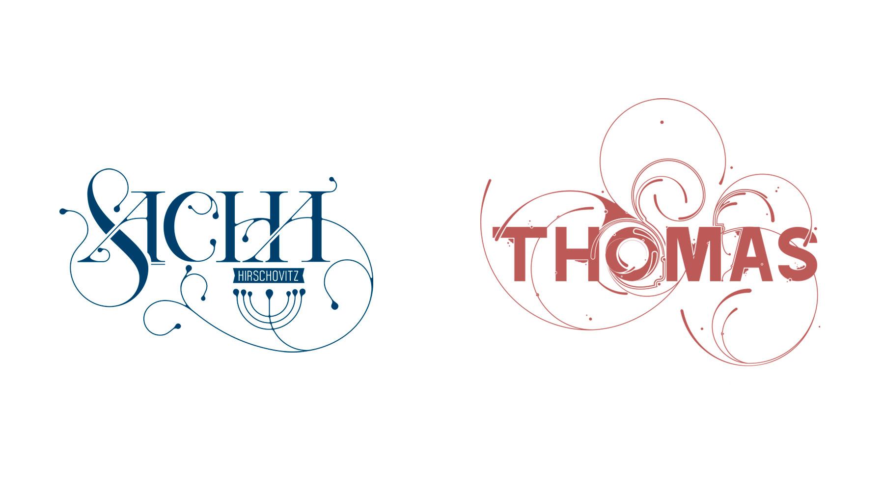 Typographie Sacha, Thomas